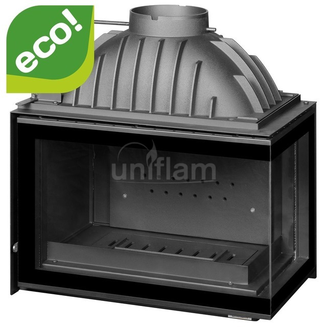 Камінна топка Uniflam 700 Plus Eco з шибером праве скло (ref. 6263-72)