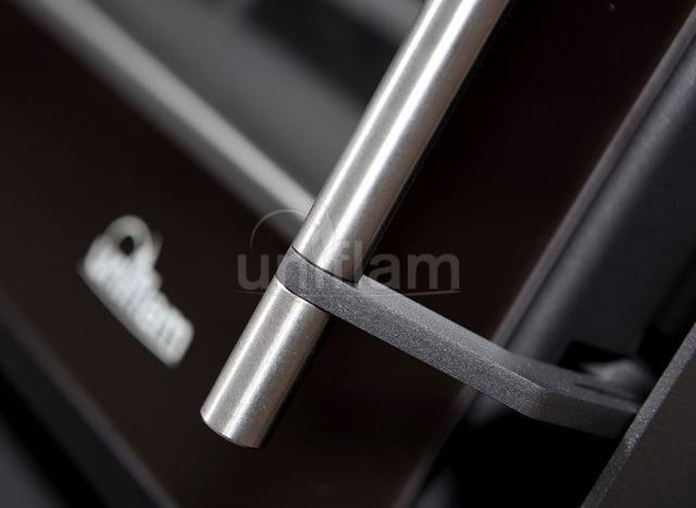 Камінна топка Uniflam 850 Prestige LBS гнуте скло (ref. 607-843-GS). Фото 5