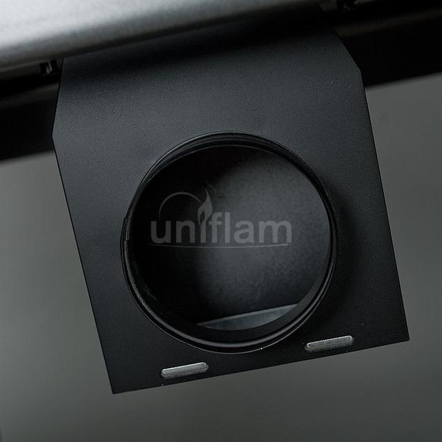 Камінна топка Uniflam 850 Prestige PBS гнуте скло (ref. 607-842-GS). Фото 6