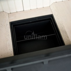 Каминная топка Uniflam 760 EVO LBS гнутое стекло (ref. 260-173-GS). Фото 5