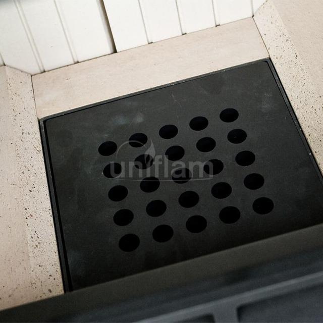 Камінна топка Uniflam 760 EVO PBS гнуте скло (ref. 260-172-GS). Фото 6